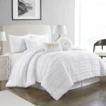 Nanshing Dessy 7 Piece Comforter Set Queen White Walmart Com Walmart Com