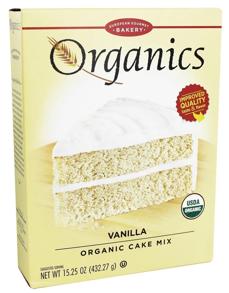 European Gourmet Bakery Organic Cake Mix Vanilla 1525