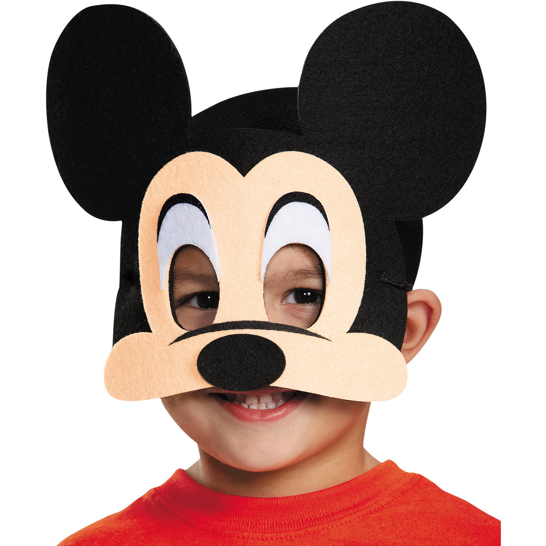 Mickey Mouse Felt Mask Child Halloween Accessory