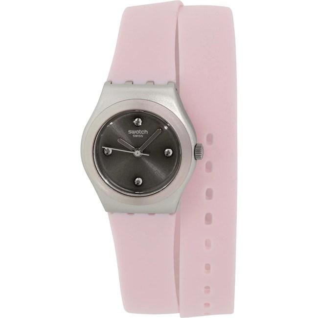 Swatch Women's Irony YSS1009 Pink Silicone Swiss Quartz Fashion Watch
