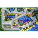 Kids Rug Harbor Map 5 X 7 Childrens Fun Learning Carpet