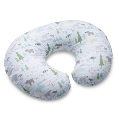 boppy original nursing pillow and positioner cotton blend north park
