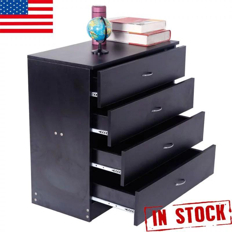 4 drawer chest of dresser bedroom furniture filing cabinet storage organizer