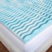 Authentic Comfort 2 Inch Orthopedic 5 Zone Foam Mattress Topper Image 3 Of