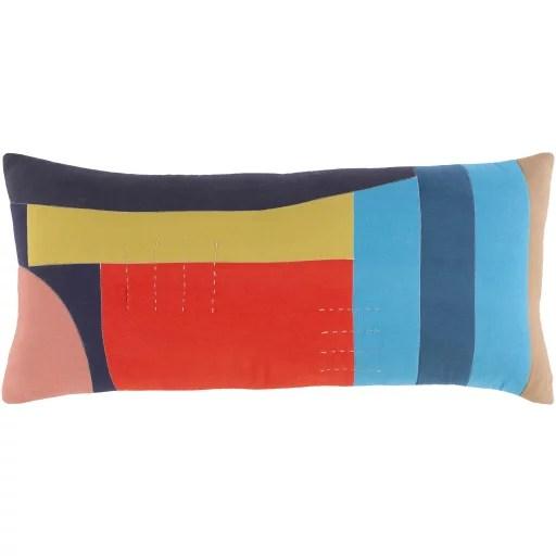surya ellie modern lumbar pillow cover ell003 3214