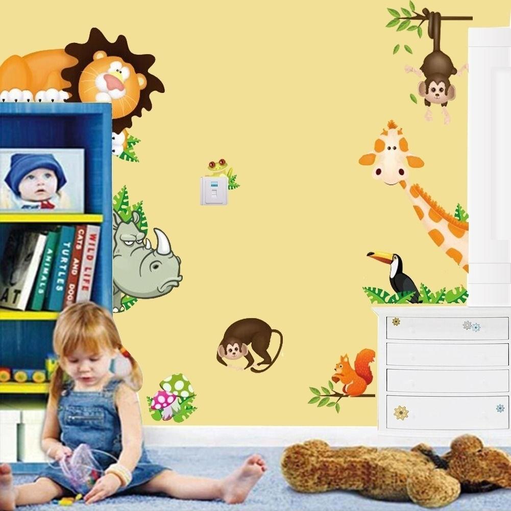 Noahs Ark Nursery Decal Wall Art Mural Bible Story Stickers Kids Room Decor Neutral Baby Safari Jungle Animal Shower Church Decorations Home Living Wall Decor Kromasol Com