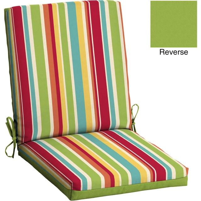 mainstays outdoor patio deep seat bottom cushion - walmart