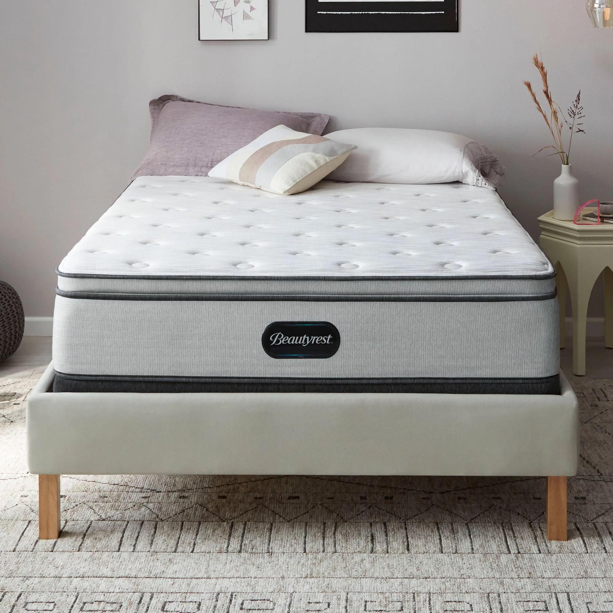 beautyrest 13 5 premier dual cool technology pillowtop mattress multiple sizes walmart com