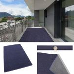 3x5 Cadet Blue Indoor Outdoor Area Rugs Runners And Mats Thin And Light Weight For Easy Transport And Storage Walmart Com Walmart Com