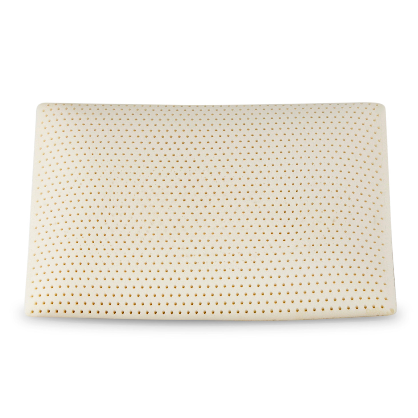 i am a natural latex standard pillow with removable cover in 18 x26 walmart com