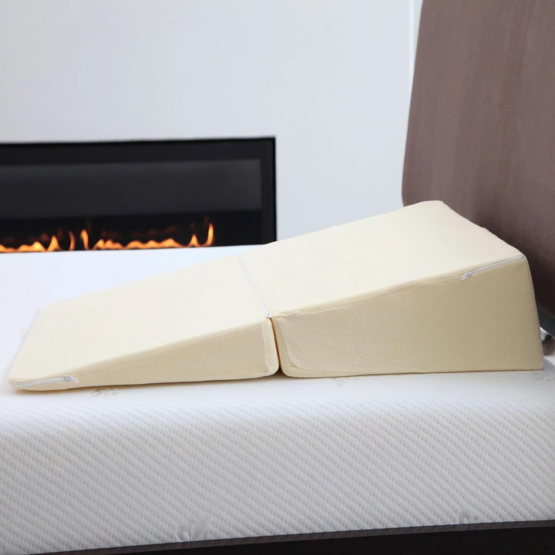 walmart foam wedge for bed online