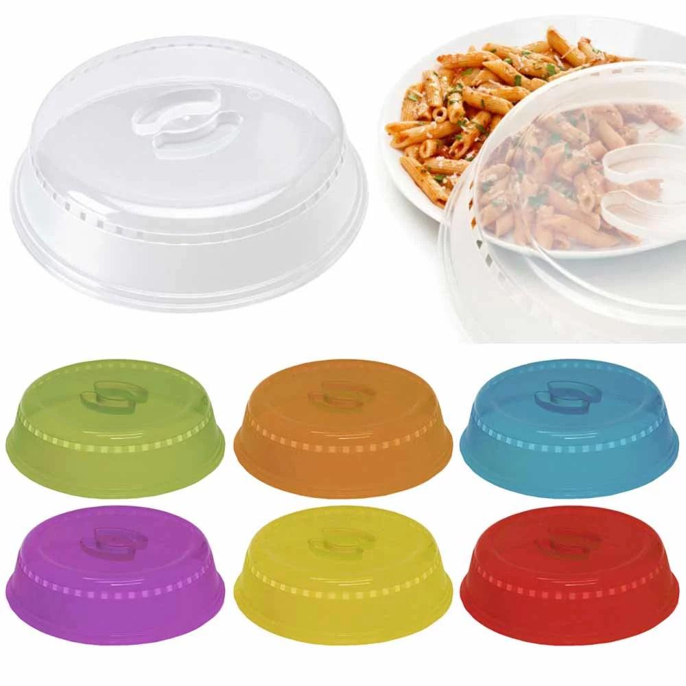 2 microwave plate cover lid 10 plastic safe dish splatter topper vent holes new walmart com