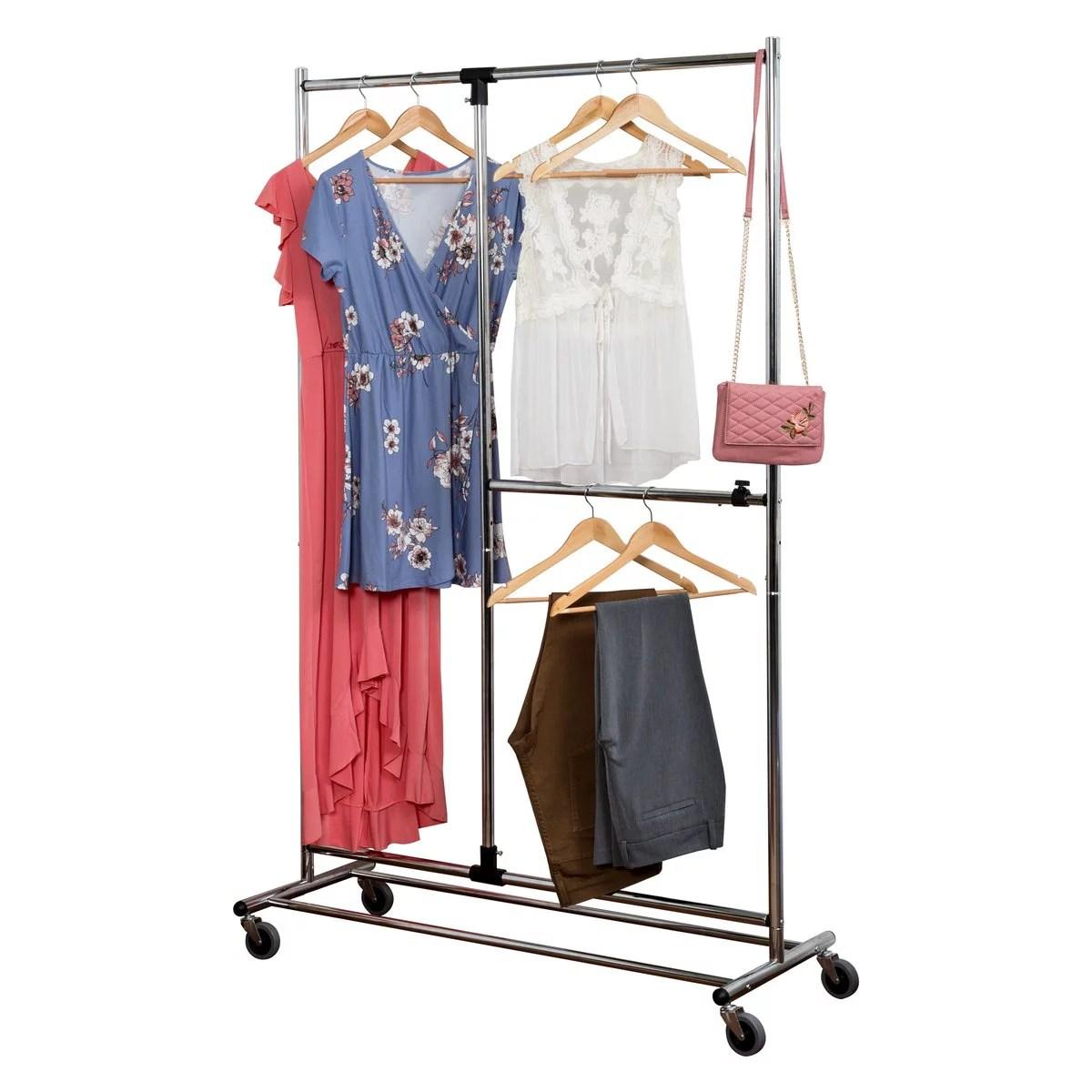 honey can do 2 tier garment rack