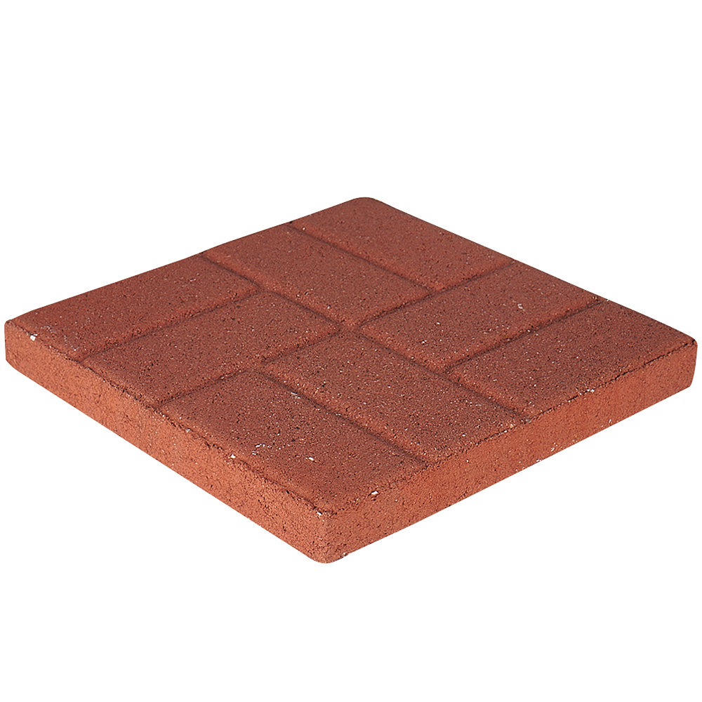 pavestone 16 square brickface red stepping stone walmart com
