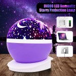 Baby Night Light Romantic Rotating Led Night Lighting Lamp Moon Cosmos Sky Star Projector Lights Baby Lamp With Usb Cable For Children Kids Gifts Bedroom Living Room Night Walmart Com Walmart Com