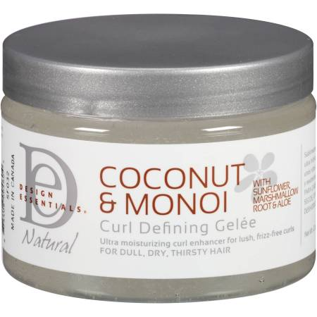 design essentials natural coconut monoi curl defining gelee 12 oz walmart