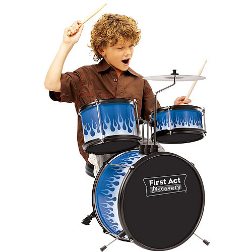 First Act Drum Set   Walmart com First Act Drum Set