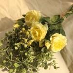 Range Rose Hydrangea Flowers Bouquet Bunch Home Wedding Party Gift Deco Walmart Com Walmart Com