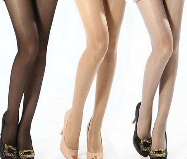 Efinny Efinny Women Girls Sheer Thin Shiny Glossy Solid Sexy Pantyhose Tights Stockings Us Walmart Com
