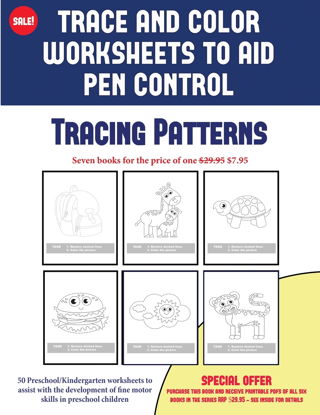 2 Coloring Books For 2 Year Olds Trace And Color