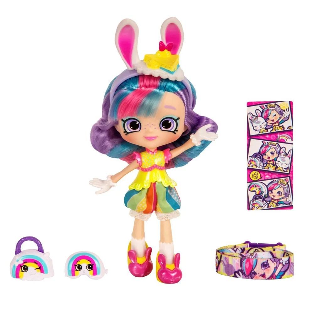 Shopkins Shoppies S4 Themed Doll - Rainbow Kate - Walmart.com
