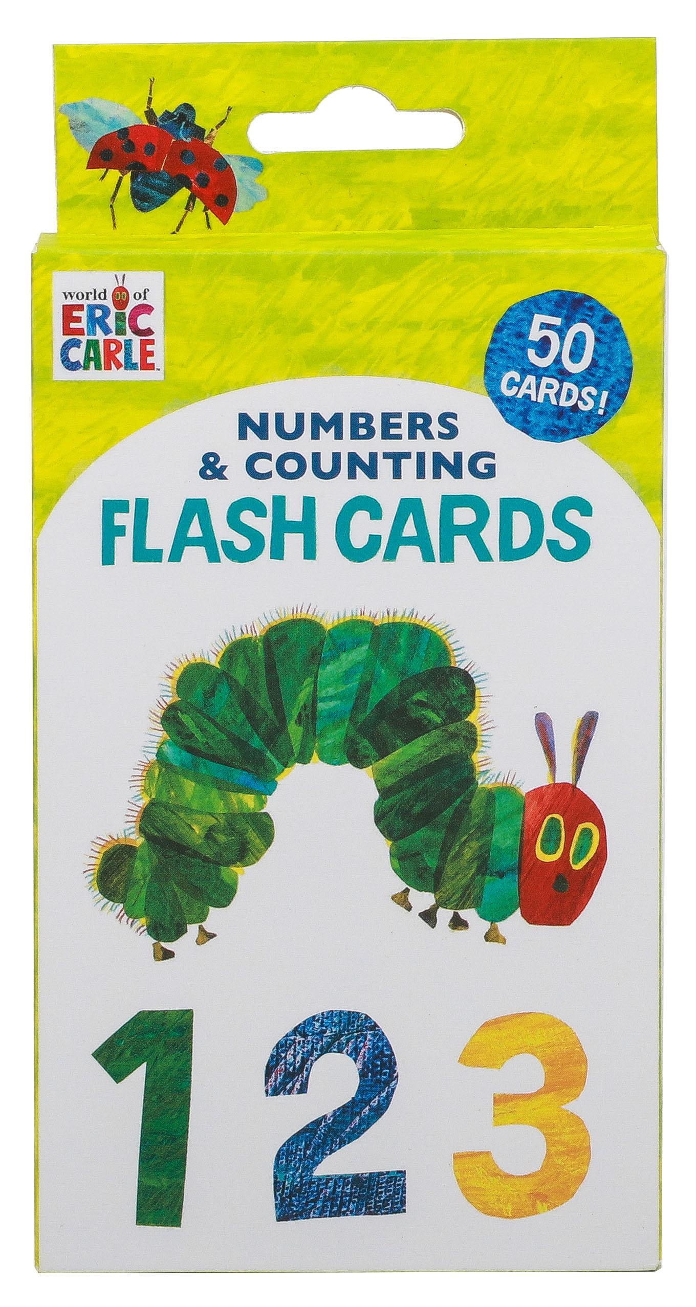 World Of Eric Carle Tm Numbers Amp Counting Flash Cards