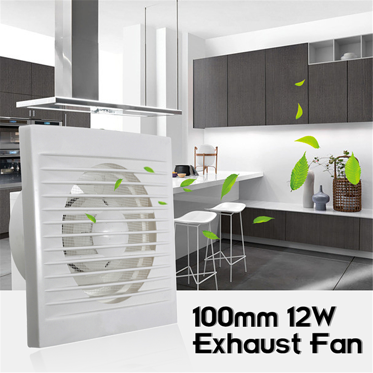 6 inch window wall mounted ventilation