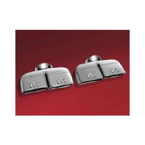 mopar 82214613 dual exhaust tips dodge challenger