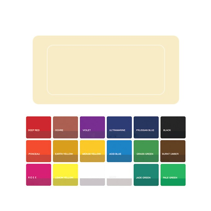 18 24 Colors Gouache Paint Set With Palette 30ml Watercolor Painting For Artists Walmart Com Walmart Com