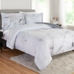 Better Homes And Gardens Marble 3 Piece Comforter Set King Walmart Com Walmart Com