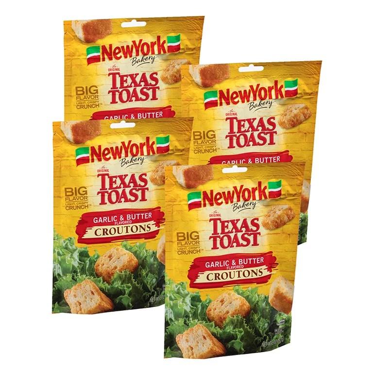 New York Bakery Texas Toast Garlic Butter Croutons 5 Oz