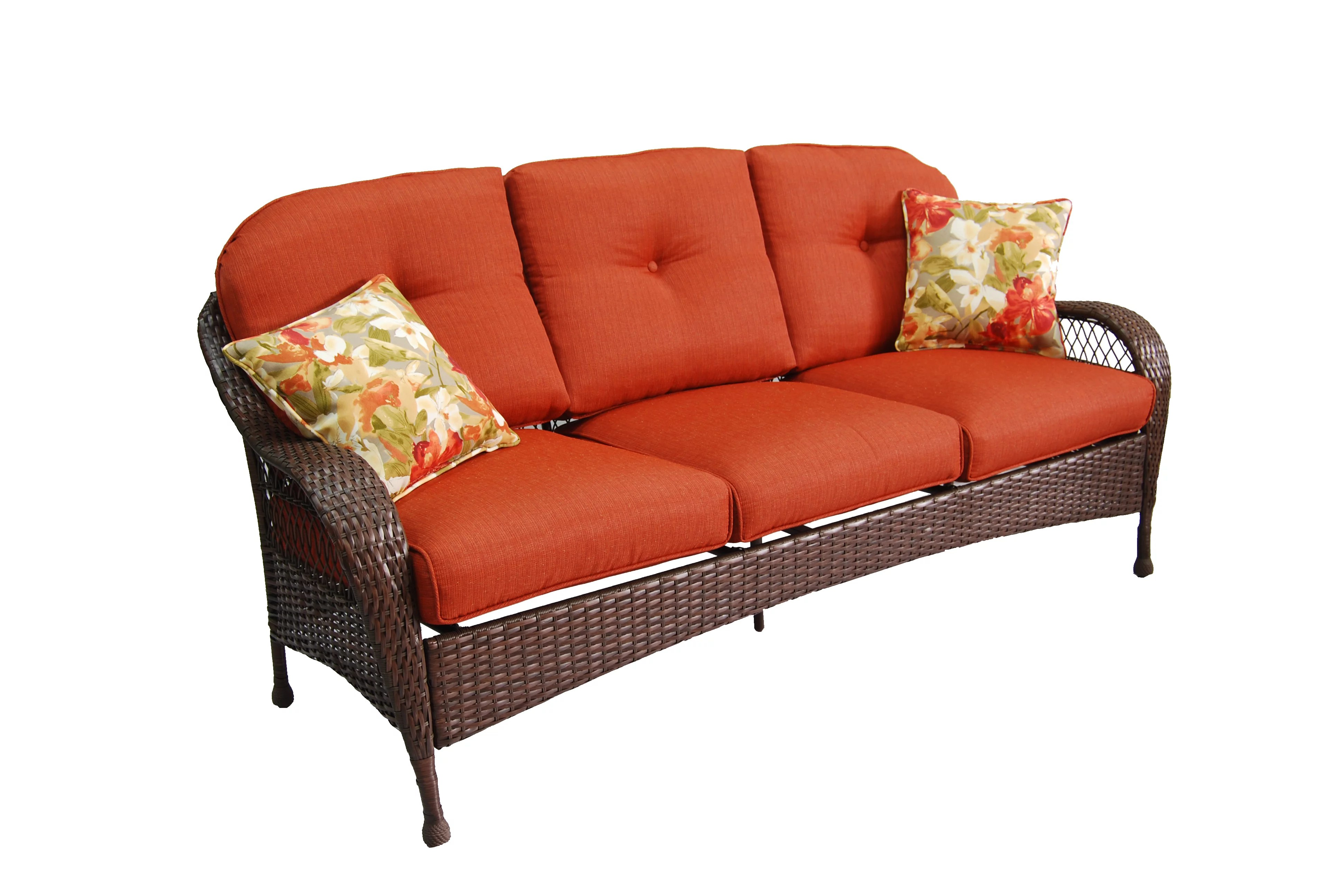better homes and gardens azalea ridge outdoor sofa seats 3 walmart com
