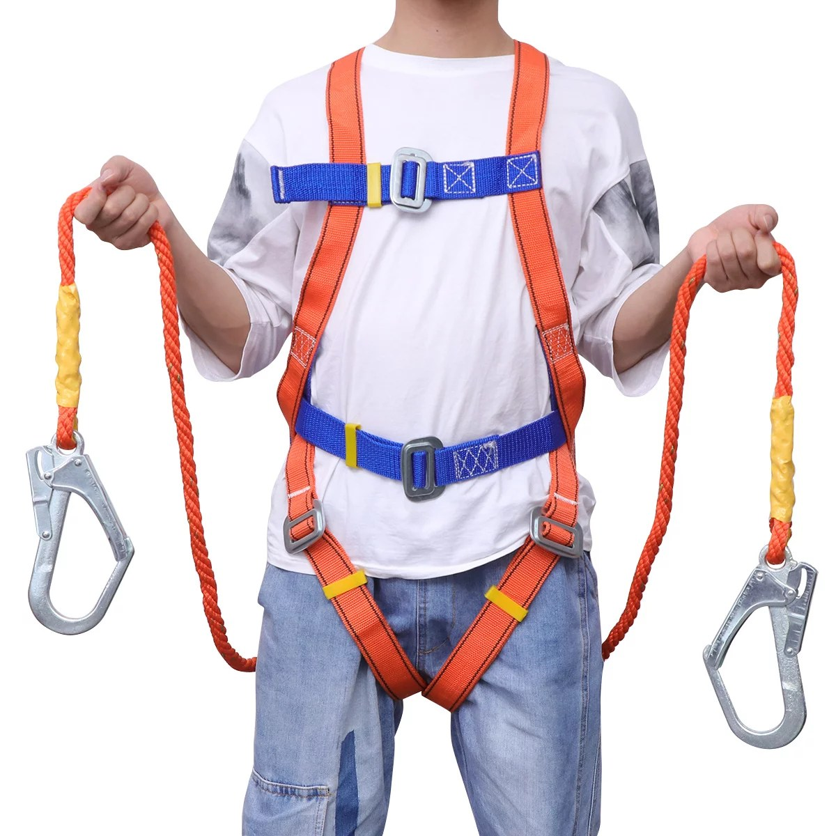 High Altitude Operation Outdoor Safety Belt Safety Zone