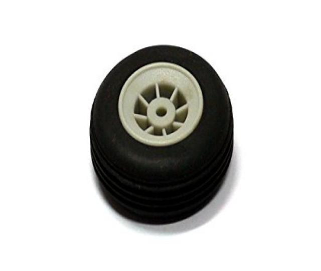 Rcecho Rc Model Airplane 30mm R C Hobby Rubber Wheel Tire 1pcs
