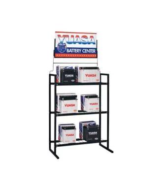 quadboss battery display rack 60052