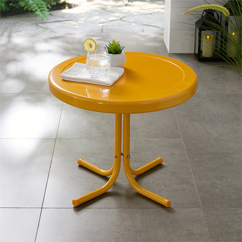 retro style side table 20 crosley