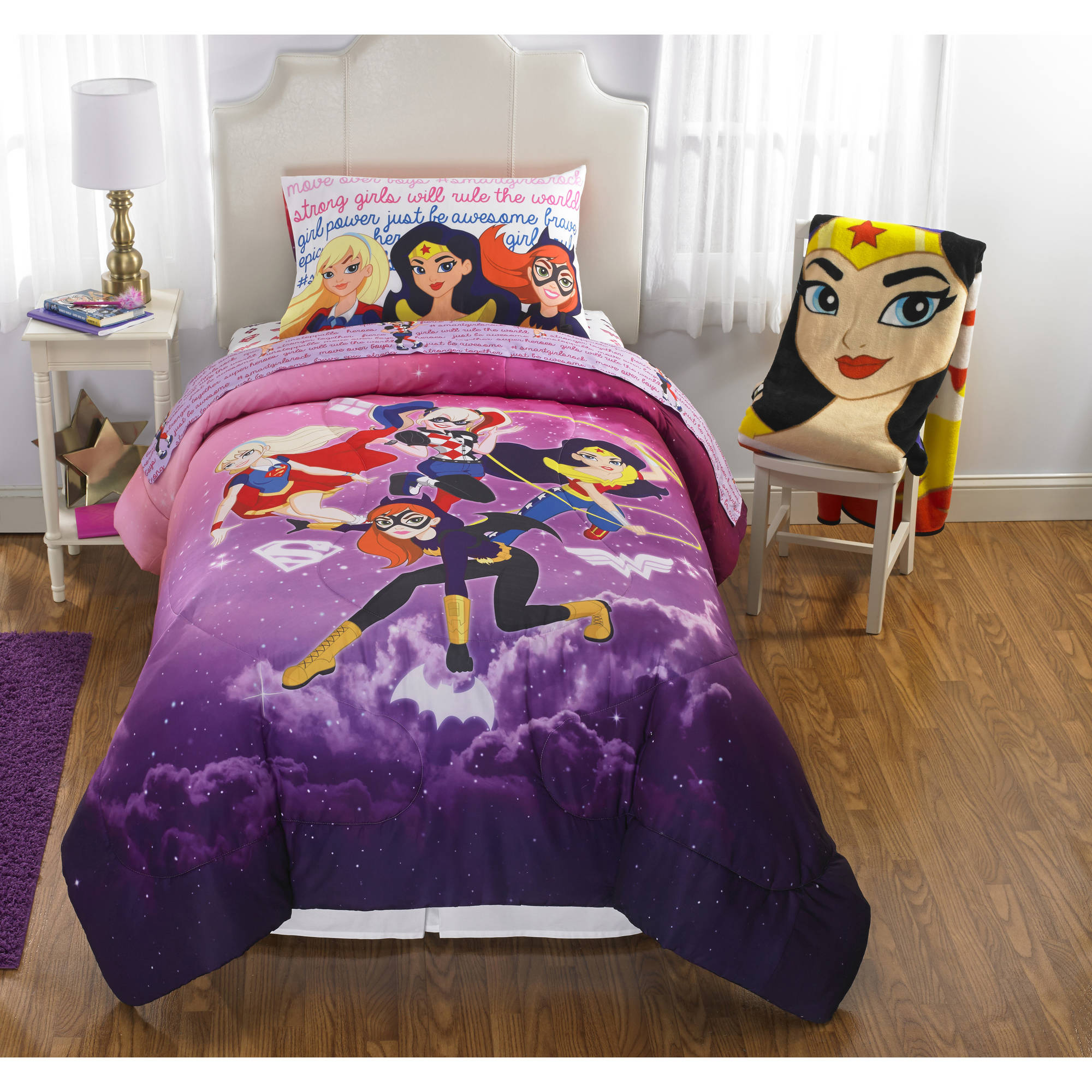 DC Superhero Girls Cosmic Girl Reversible TwinFull