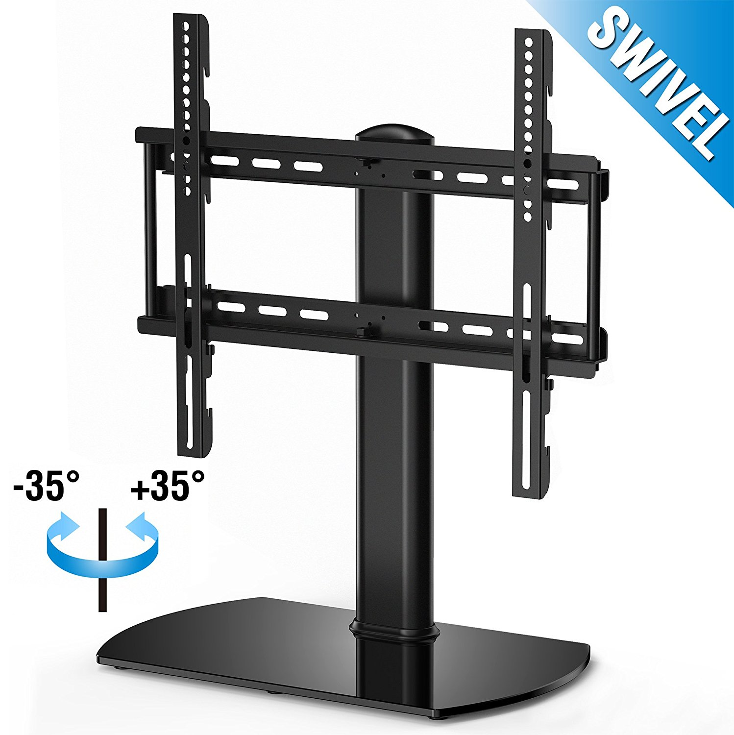 FITUEYES Universal Tabletop TV Stand Base With Swivel