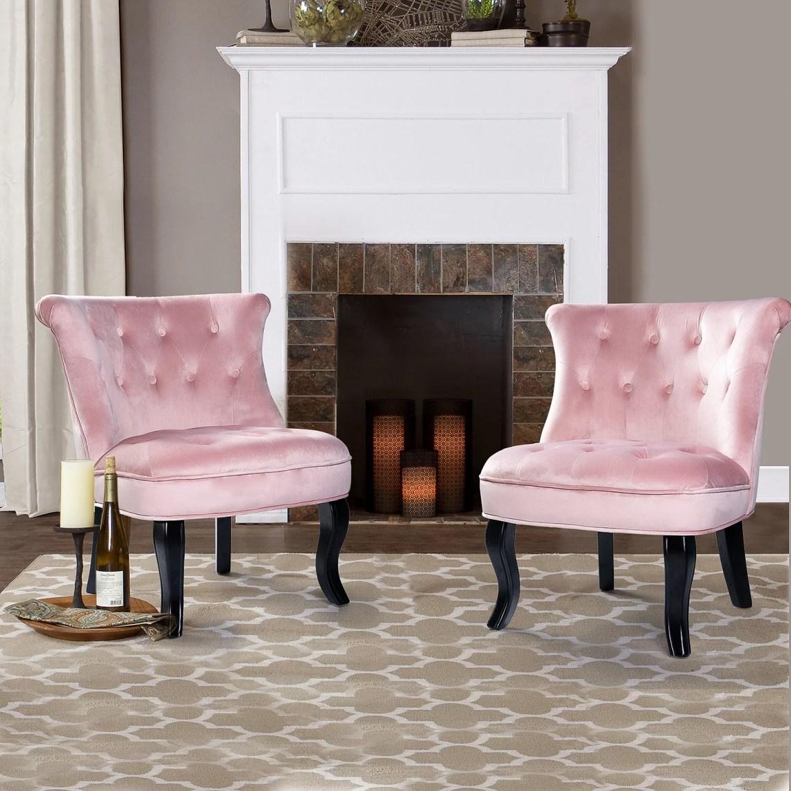 Mid-Century Modern Velvet Accent Chair for Living Room or ...