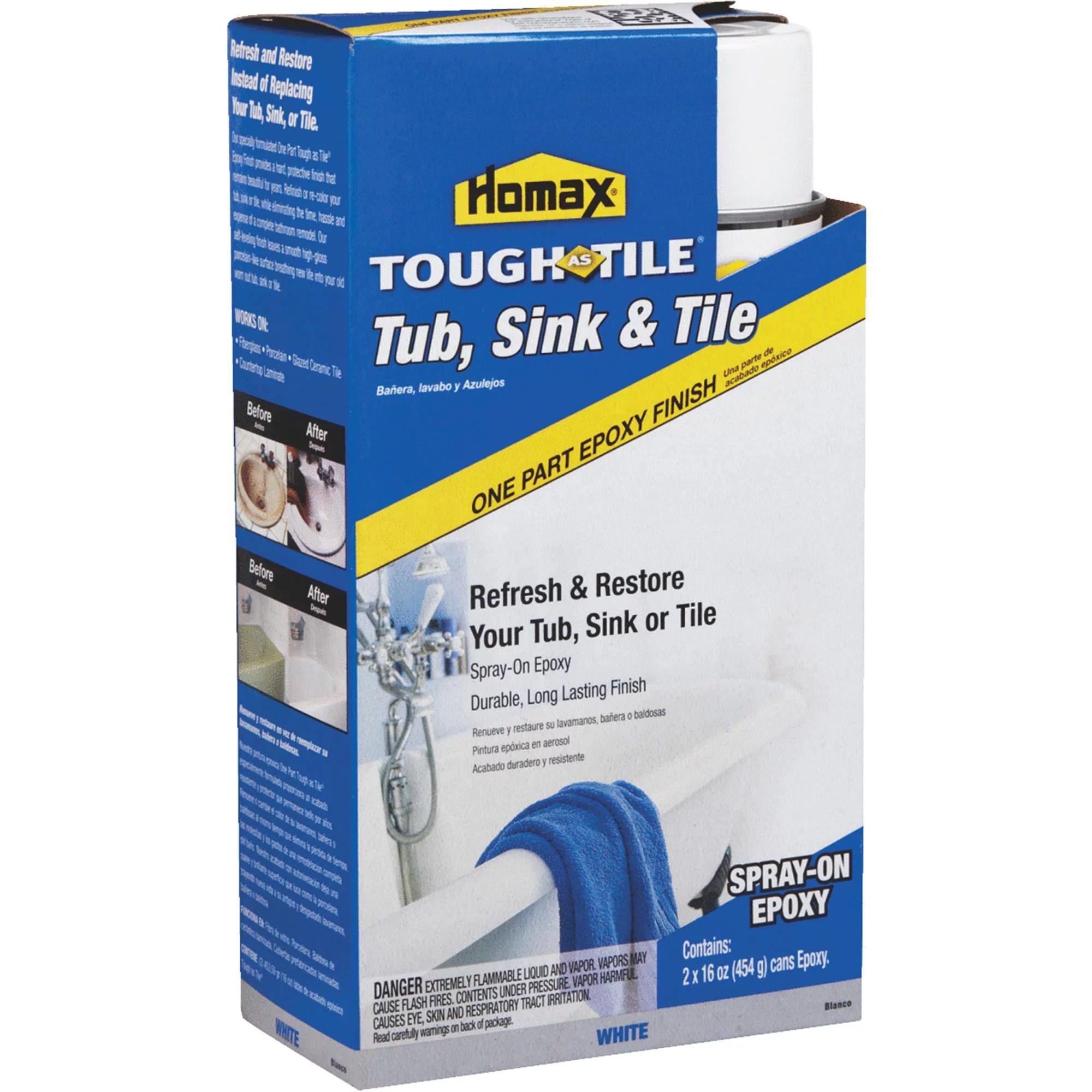 homax tough as tile epoxy tub tile spray paint