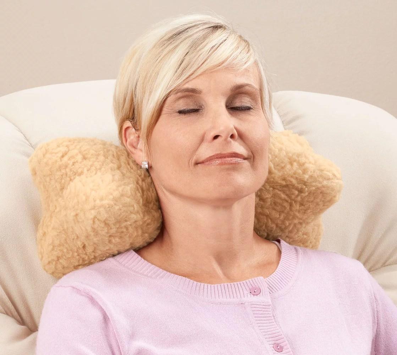 sherpa neck cradle pillow by oakridgetm