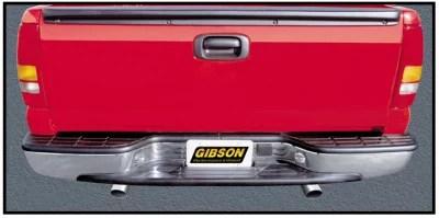 gibson exhaust 5557 gib5557 99 01 silverado sierra 2500 3500 truck standard cab long bed 2500 3500 6 0l dual exhaust system