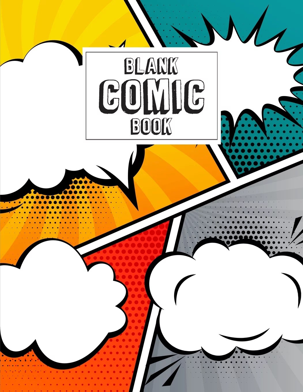 Blank Comic Book Blank Comic Book For Kids With Variety