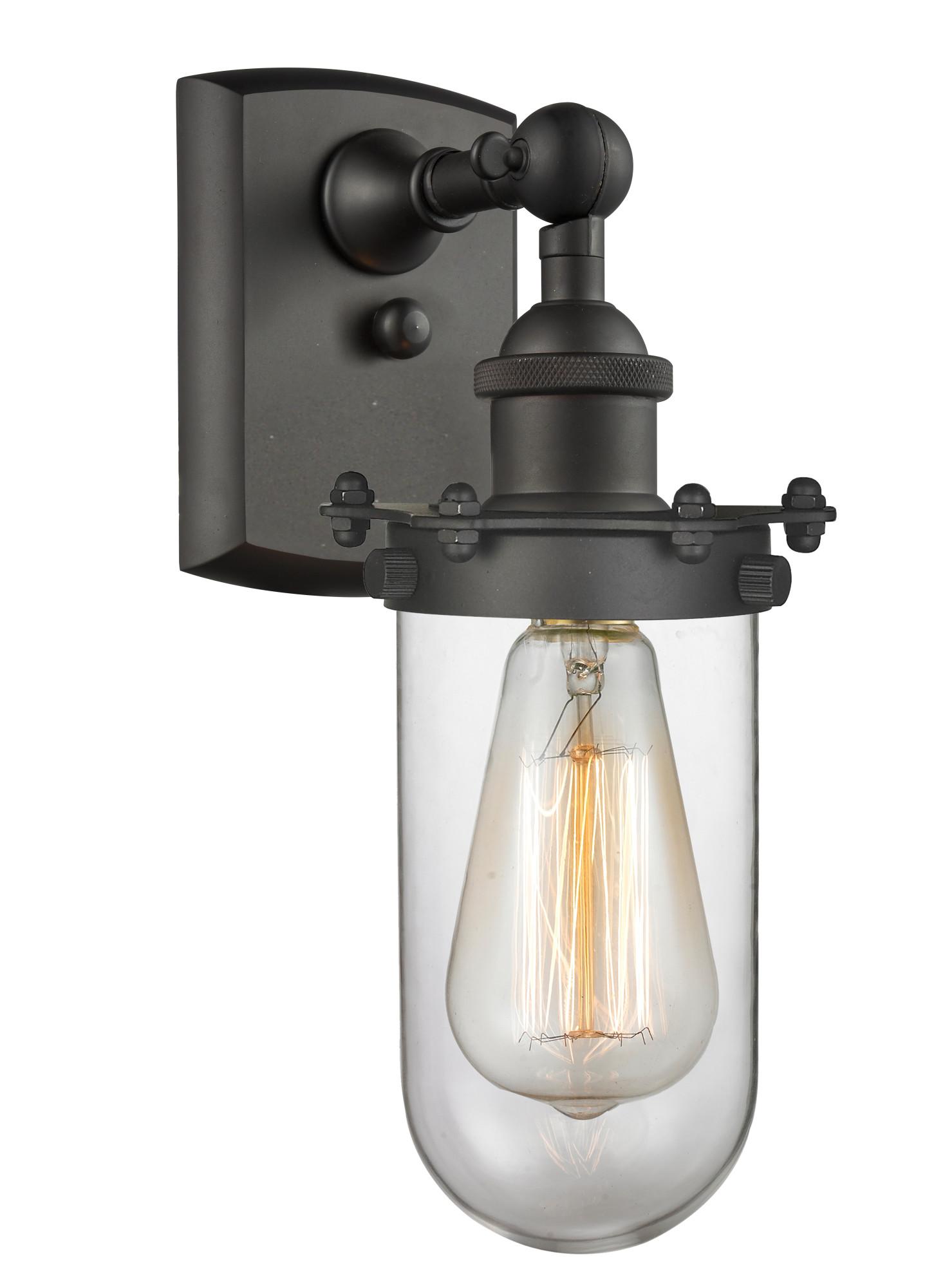 Innovations Lighting 516-1W Kingsbury Kingsbury 1-Light 12 ... on Height Of Bathroom Sconce Lights id=62538