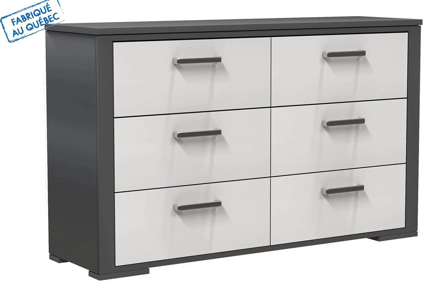 karlstad 5 drawers dresser light gray