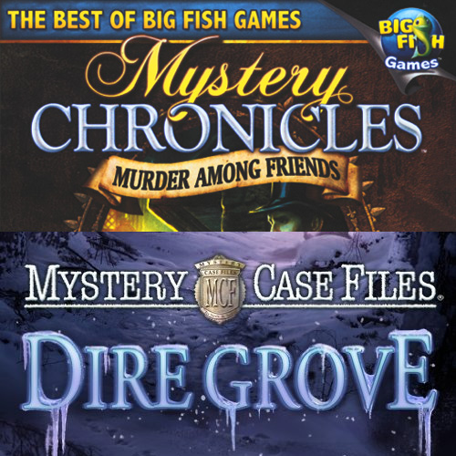 Mystery Case Files 2-Pack Dire Grove and Mystery Chronicles- XSDP -58157 – Mystery Case Files: Dire Grove and Mystery Chronicles: Murder Among Friends combine two hidden object mysteries in one f