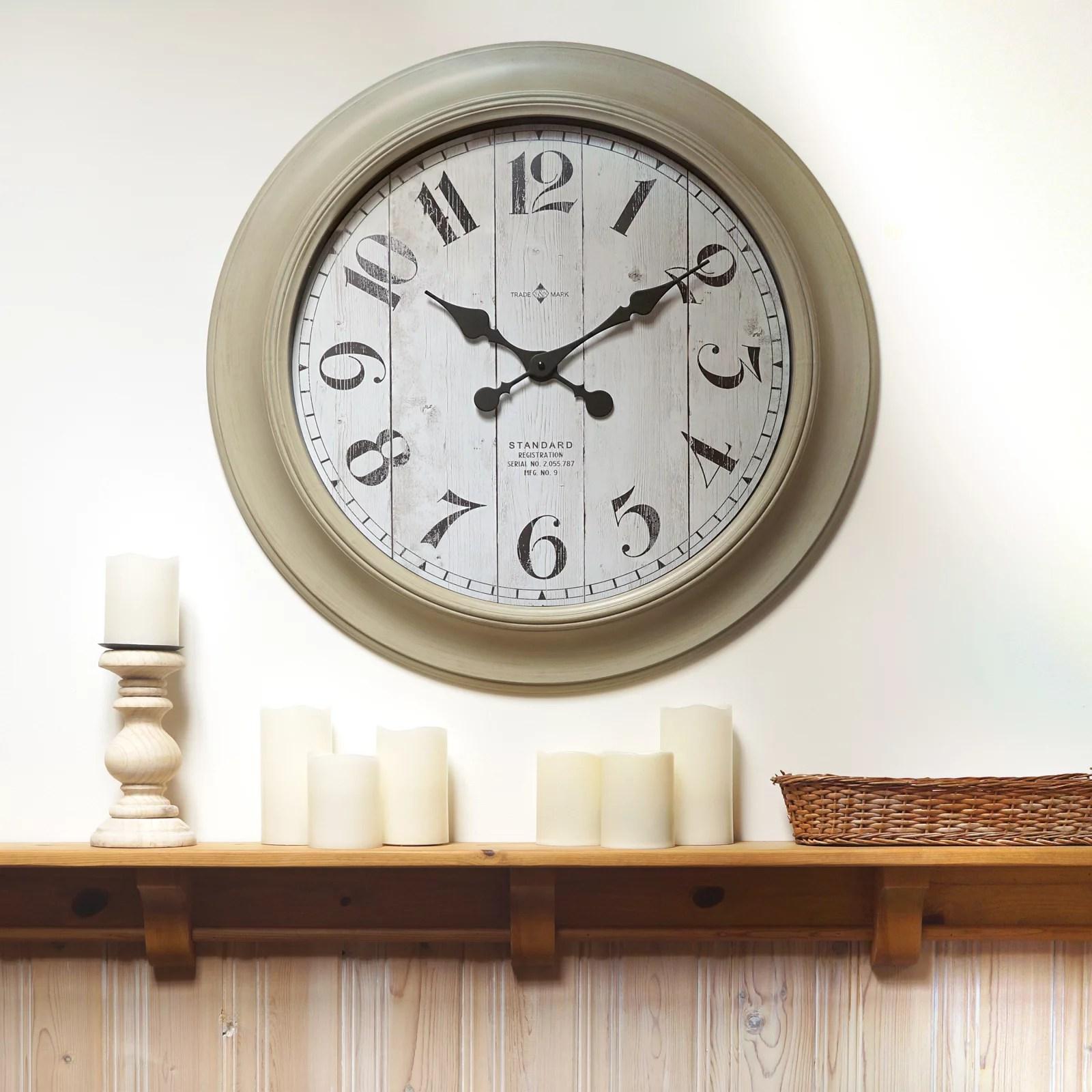 Better Home Amp Gardens Oversized Wall Clock 28 Inch