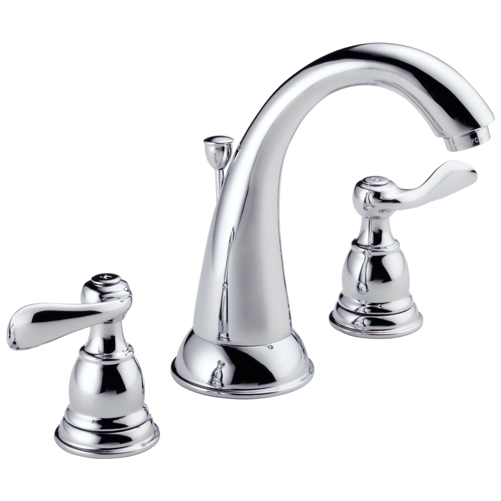 delta lahara two handle 8 in widespread lavatory faucet in chrome 3538 mpu dst