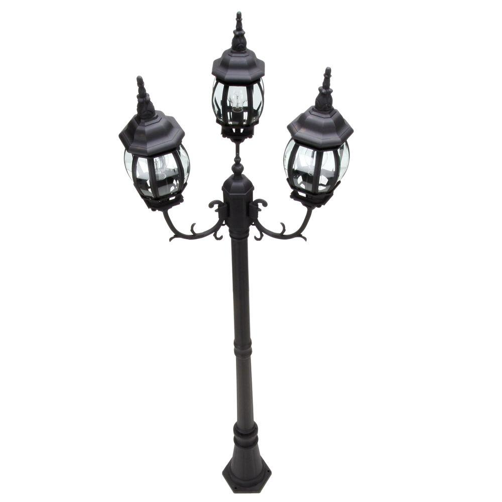 hampton bay outdoor post lantern