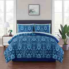Bettuberwurfe Tagesdecken Twin Queen King Bed Navy Blue White Solid Hotel 8 Pc Quilt Sheet Set Coverlet Mobel Wohnen A2privathospital Dk